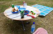 Doble mesa de Camping o Picnic