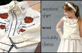 Camisa Western de Rockabilly vestido remodelar