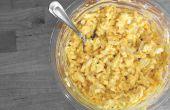 Cómo hacer ensalada de huevo