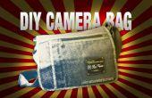 ¿DIY bolso de cámara la lona encerada