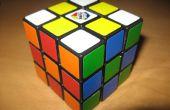 Avanzada de patrones de cubo de Rubik