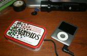 Altavoz ipod portátil con LEDS!!!