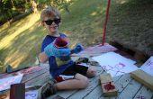 Planta venenosa de la pintura - para niños!