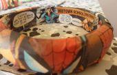 Brazaletes de Spiderman de decoupage