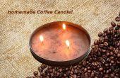 Vela de café hecho en casa!