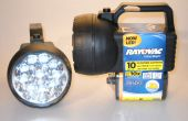 Rayovac brillante 10 LED Mod.  150 horas. Bajo $6,00