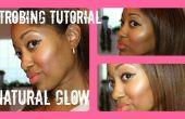 Maquillaje de efecto estroboscópico: Natural de la piel que brilla intensamente