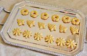 Spritz Cookies (gluten/grano gratis)