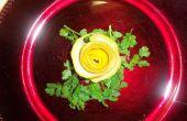 Rosa limón decorativo