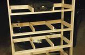 Dejar de lado el almacenamiento de garaje/sótano barato de bandejas de coque