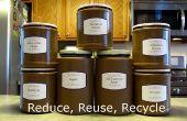 Reasignación de contenedores para el almacenamiento de despensa