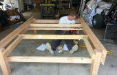 Marco de la cama de plataforma/almacenamiento