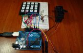 Control con Arduino + teclado 4 x 4 + Servo (actualización) de acceso
