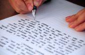 Cómo editar tu propia escritura