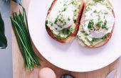 RECETA | TOSTADAS de aguacate huevo