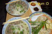 Vien de Pho Bo (sopa de albóndigas vietnamita mi camino)