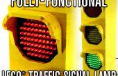 ¿Lámpara de señal de tráfico de LEGO totalmente funcional