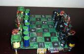 Micro procesador el conjunto del ajedrez
