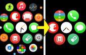 Simplificar la pantalla de inicio de Apple Watch
