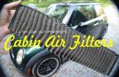 Cómo cambiar un filtro de aire de cabina