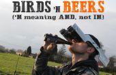 Observación de aves manos libres