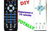 Reutilizar un control remoto de TV totalmente!
