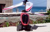 Aterrizaje de Mini R/C helicóptero rápida y sucia derrapes fix