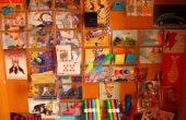 Chatarra/Tiny pared hecha de cajas de cinta de Cassete ('; '