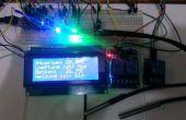 Termostato de Arduino con i2c x DS18b20 2 pantalla de 4 x 16, 2 RGB LED y 3 relé