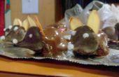 Ratones de chocolate, una victoria segura de su amor.