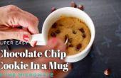 Minuto 2 chispas de Chocolate microondas galletas