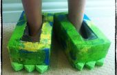 ¿Zapatos Monster DIY