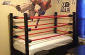 Hacer una cama de ring de lucha libre