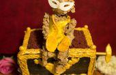 El fantasma de la ópera Monkey pastel de caja de música