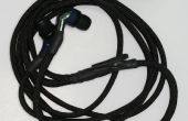 Envolver auricular / audífono cuerdas con Paracord