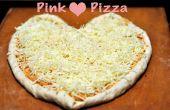 Rosa corazón Pizza