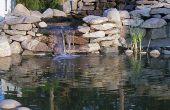 Cascada de agua o estanque jardín - edificio cascada estanque cascadas
