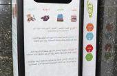 Automática máquina de donación de zapatos y la ropa