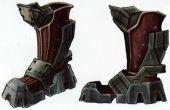 Leyenda de Zelda Twilight Princess: Botas de hierro