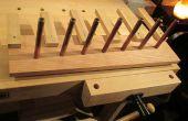 Estante del sombrero de la bufanda de manopla - carpintería 1 º hija construir