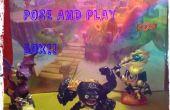 Caja de Skylanders Pose-n-Play
