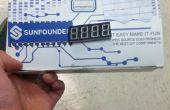 Reloj de pantalla de 7-Seg de Arduino