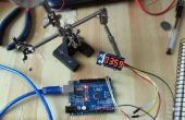 4 dígitos dos cable Display con Arduino