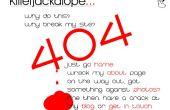 Añadir una página de 404 error personalizada a su sitio