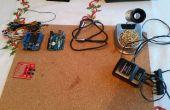 Arduino controla el espectáculo de luces música LED marca