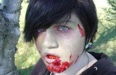 Tan realista como Zombie maquillaje consigue!