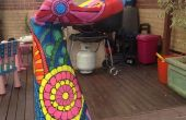 Rainbow stools