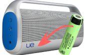 Reemplazo de la batería de un Logitech Boombox