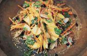 Receta de ensalada crujiente Morosh