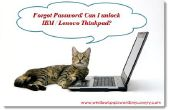 Desbloqueo de IBM / Lenovo Thinkpad